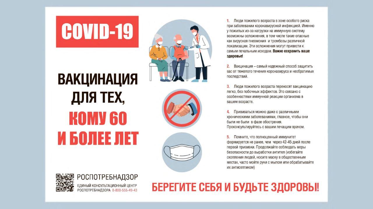 О вакцинации от COVID-19 для тех, кому 60 и более лет_