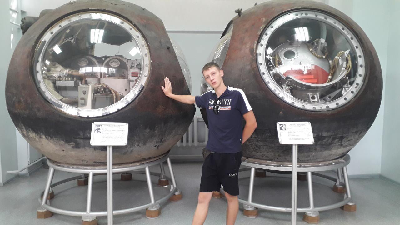 Дудиков Степан на отдыхе в Московской космической школе_